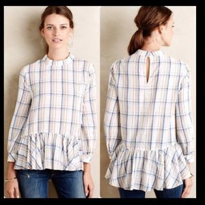 Maeve ANTHROPOLOGIE Blouse size 4